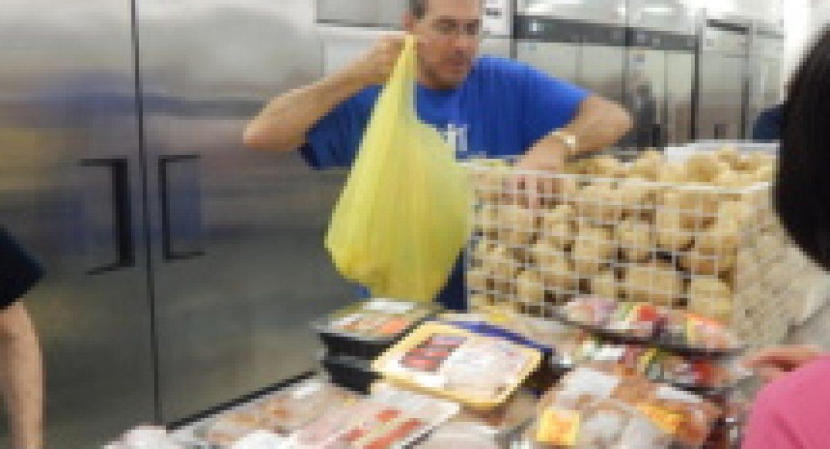bagging potatoes
